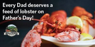 Father's Day Contest enter to win lobsters for your dad